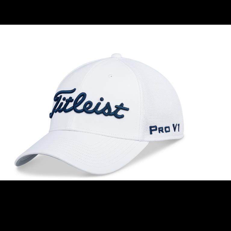 Tour Sports Mesh White Hat