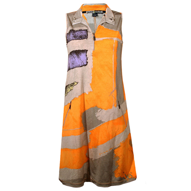 Jamie Sadock Osaka Print Dress