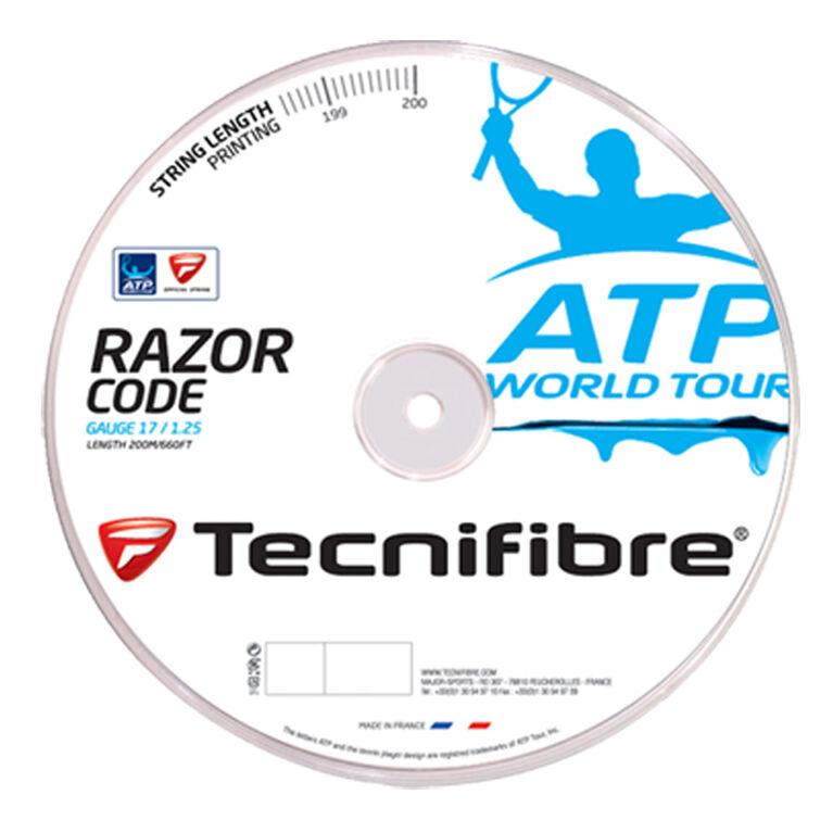 Tecnifibre ATP Razor Code 17 Gauge String Reel - Blue
