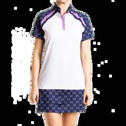 Short Sleeve Colorblock Polo Shirt