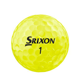 Z-STAR 6 Golf Balls - Yellow