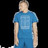 NikeCourt Men's Short Sleeve Tennis T-Shirt