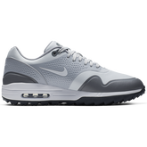 Alternate View 1 of Air Max 1 G Men's Golf Shoe - White/Grey