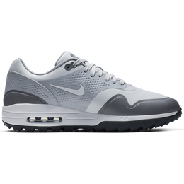 Air Max 1 G Men's Golf Shoe - White/Grey