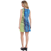 Alternate View 1 of Butter Collection: Graphic Swirl Dress