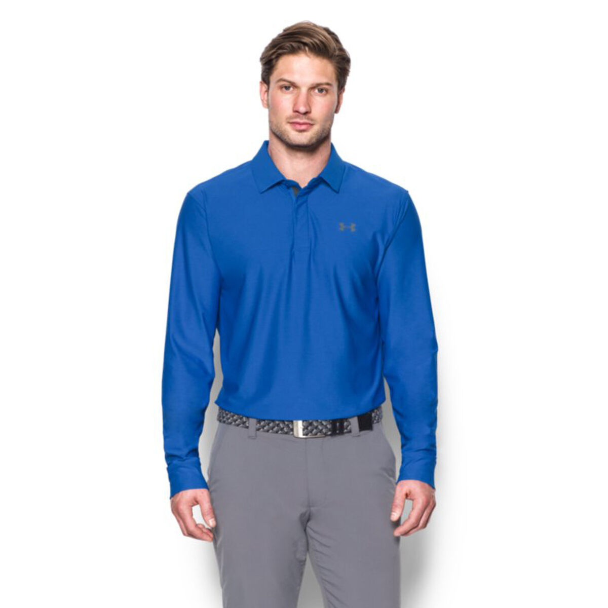 Under Armour Playoff Long Sleeve Polopga Tour Superstore