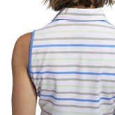 Alternate View 7 of Minted Blues Collection: Ultimate Stripe Sleeveless Polo Shirt