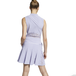 Flex Sleeveless Lace Inset Golf Dress
