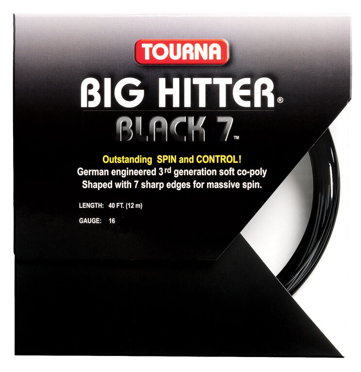 Tourna Big Hitter -16 Gauge String- Black