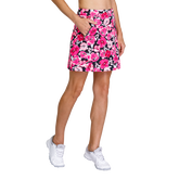 Alternate View 1 of Paradise Collection: Darby Floweret Pull On Skort