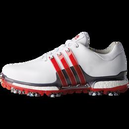adidas TOUR 360 2.0 Men's Golf Shoe - White/Red