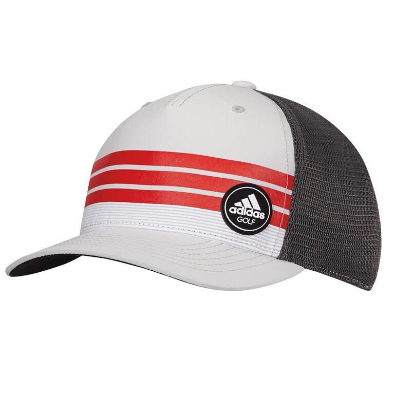adidas Stripe Trucker Hat