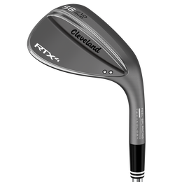 RTX 4 Black Satin Wedge