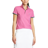 Alternate View 1 of Short Sleeve Tipped Collar Polo Shirt