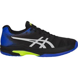 Solution Speed FF Men's Tennis Shoe - Black/Blue