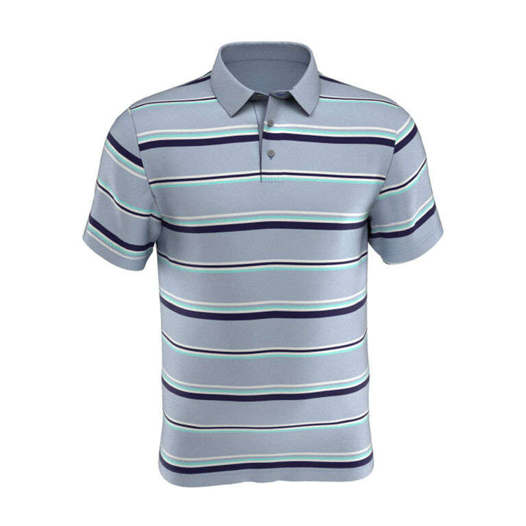 Boys' Allover Stripe Short Sleeve Golf Polo Shirt