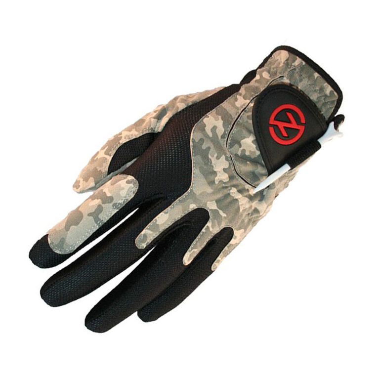 Zero Friction Men's Compression Golf Glove - Field Camo