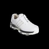 Alternate View 1 of TOUR360 XT Men's Golf Shoe - White/Black/Silver