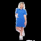Austin Short Sleeve Doilies Print Dress