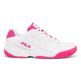 Women's Double Bounce Pickleball Shoe - White/Pink