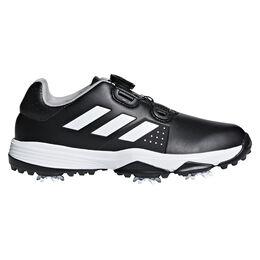 adidas Adipower Boa Junior Golf Shoe - Black/White
