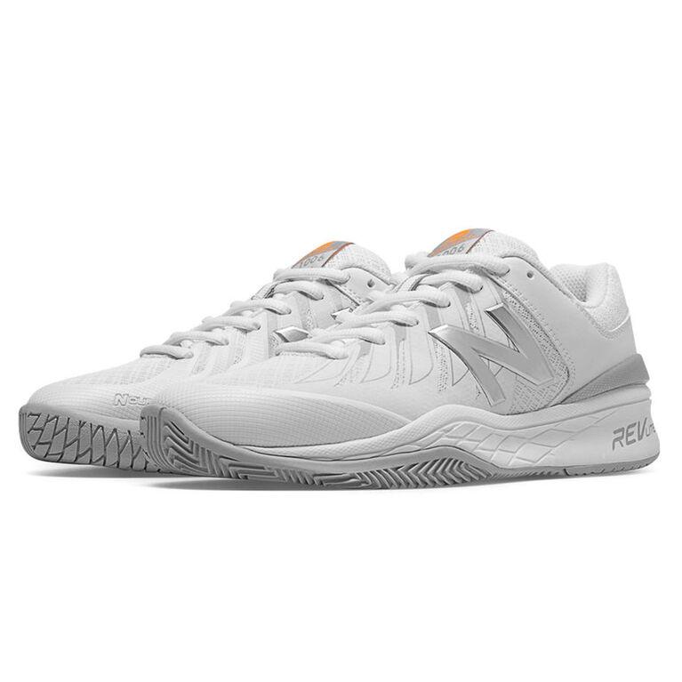 New Balance 1006 Women's Tennis Shoe - White/Silver
