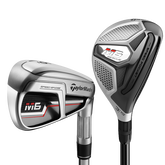 M6 4,5-Hybrid, 6-PW, AW Women's Combo Set w/ Tuned Performance 45 Graphite Shafts