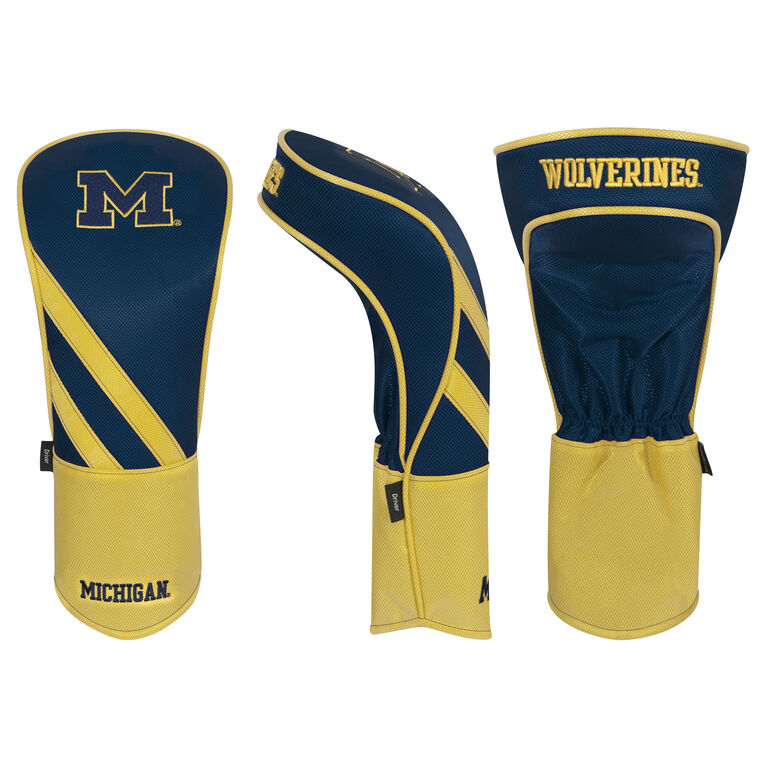 Team Effort Michigan Wolverines Driver Headcover