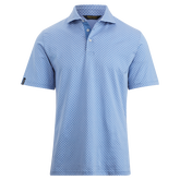 Active Fit Print Jersey Polo