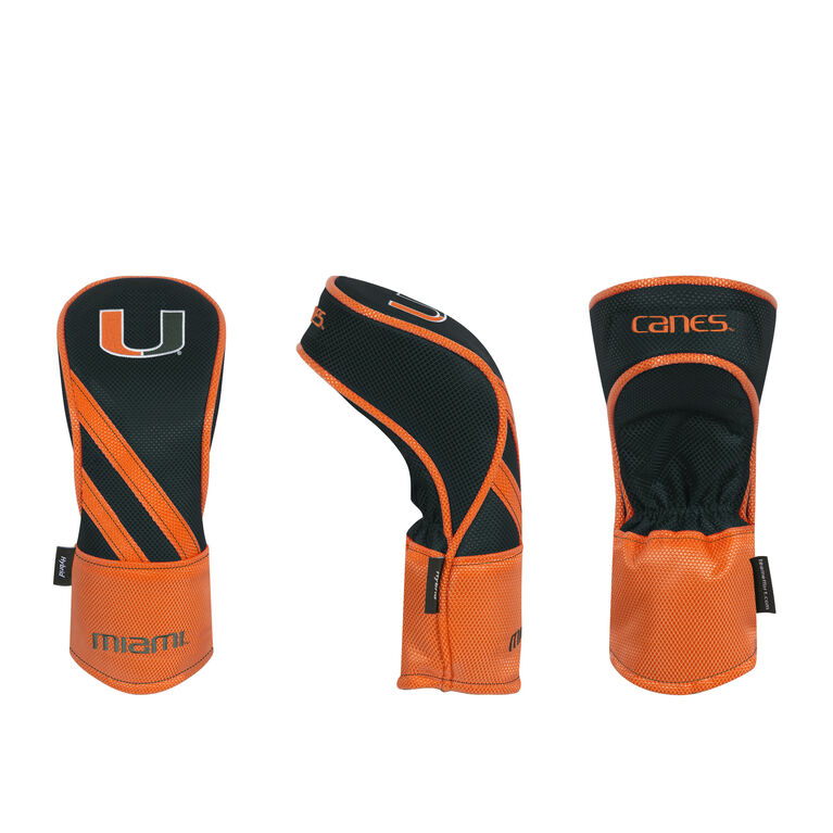 Team Effort Miami Hurricanes Hybrid Headcover