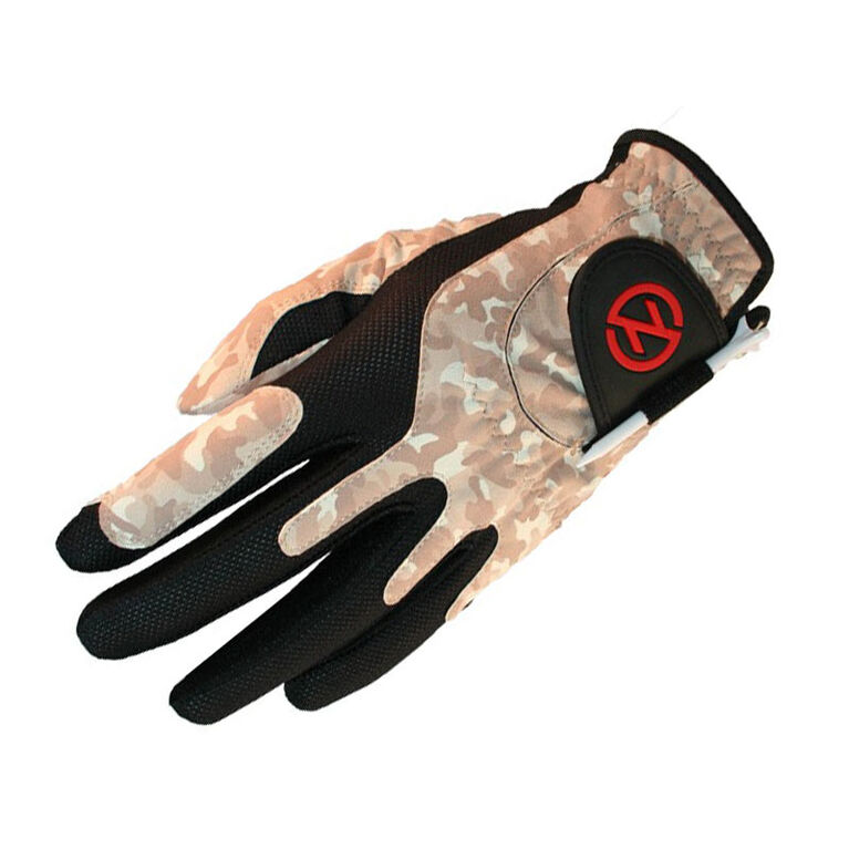 Zero Friction Men's Compression Golf Glove - Desert Camo