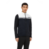 Logo Colorblock Full Zip Vest