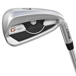 G400 4-PW Iron Set w/ Steel Shafts