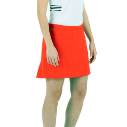 Americana Collection: Belle Solid Ruffle Back Skort