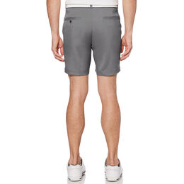 """7"""" Flat Front Golf Short With Active Waistband"""