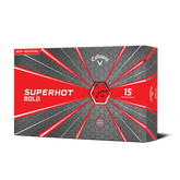 Superhot Bold Red Golf Balls 15-Pack - Personalized