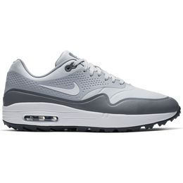 watch 4c30f 6c550 Air Max 1G Men  39 s Golf Shoe - White Grey ...