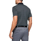 Alternate View 1 of Performance Textured Stripe Men's Golf Polo Shirt
