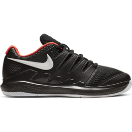 Vapor X Jr Tennis Shoe - Black/Red