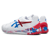 Alternate View 2 of GEL RESOLUTION 8 LE TOKYO Men's Tennis Shoes - White/Red