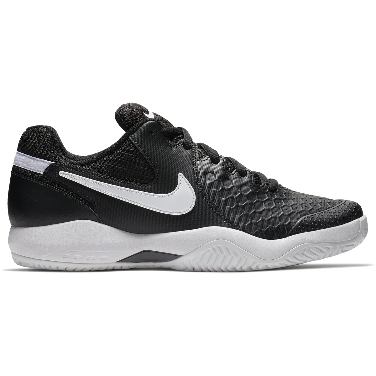 9a7bd5d50a54 Images. Nike Air Zoom Resistance Men  39 s Tennis Shoe - Black White