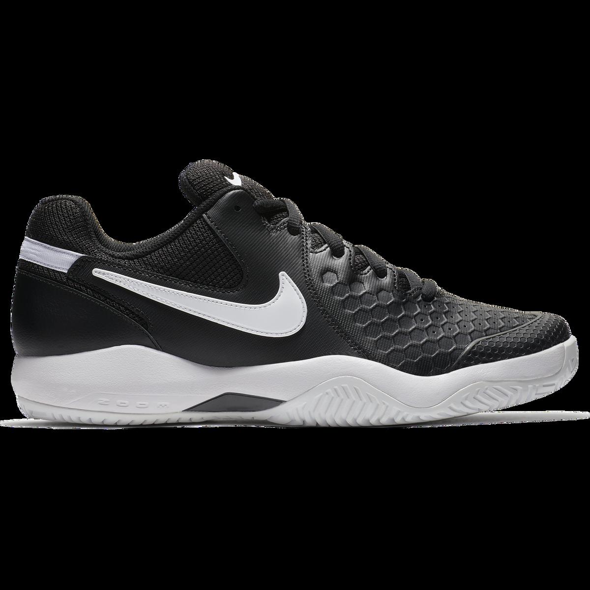b12973f2027e Nike Air Zoom Resistance Men s Tennis Shoe - Black White