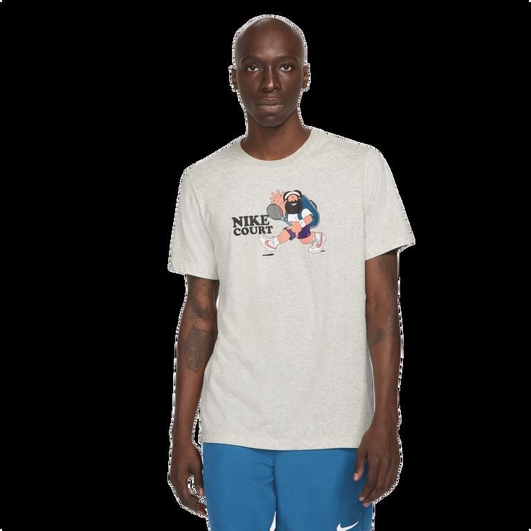NikeCourt Men's Short Sleeve Print Slam T-Shirt