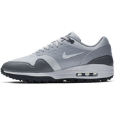 Alternate View 3 of Air Max 1 G Men's Golf Shoe - White/Grey