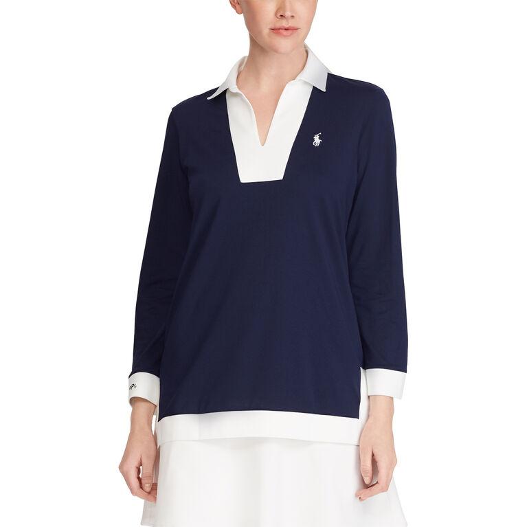 Ralph Lauren Golf Performance Jersey Tunic Top