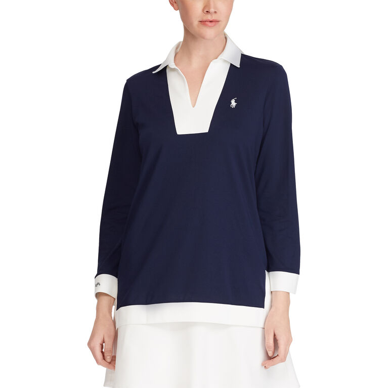 Ralph Lauren Golf Performance Jersey Tunic Top