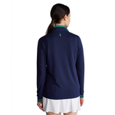 Alternate View 3 of Performance Jersey Long Sleeve Quarter-Zip Pull Over