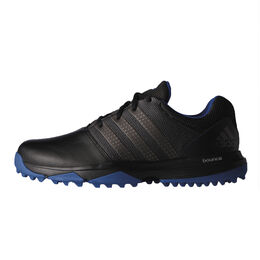 adidas 360 Traxion Men's Golf Shoe - Black/Silver
