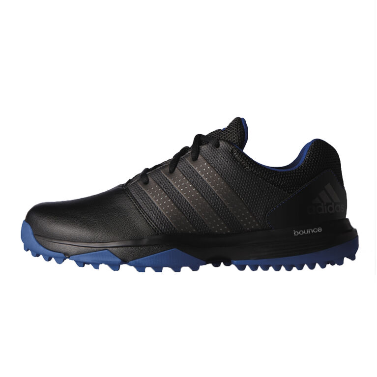 adidas 360 Traxion Men's Golf Shoe - Black/Silver