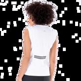 Alternate View 2 of Dynamo Collection: Dessa Sleeveless Striped Mock Collar Top